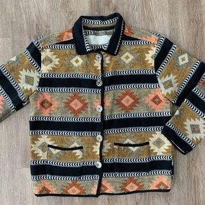 Vintage Jane Ashley southwest riding jacket